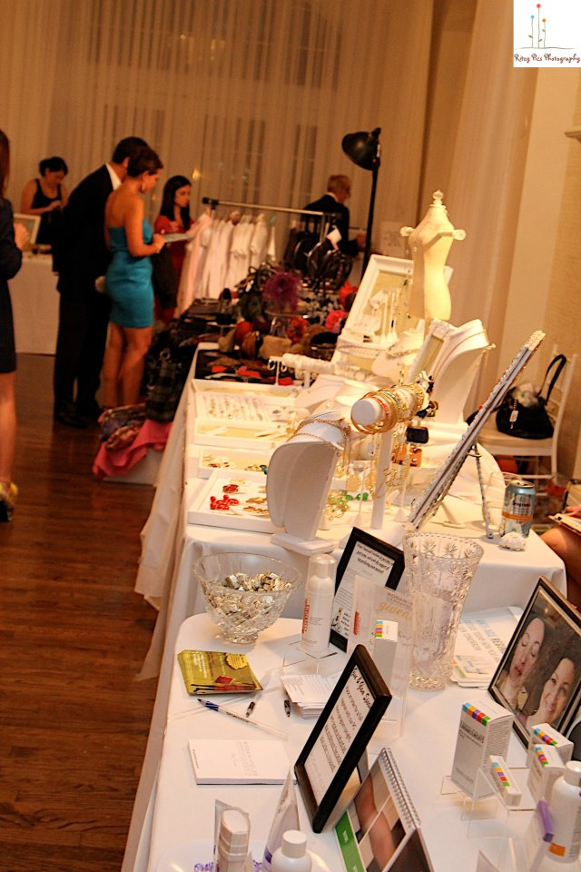 Last year's Give and Glam displays