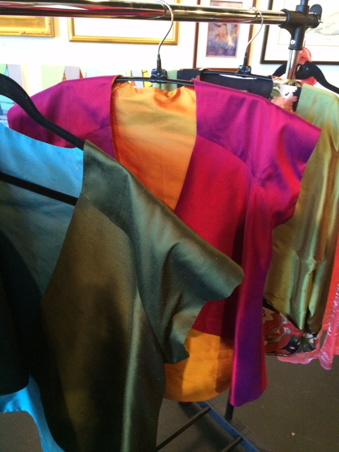 Silk pieced Jackets